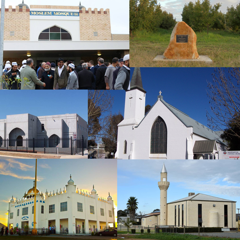 Shepparton places of worship