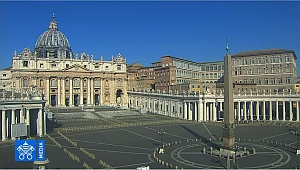 St Peters in Rome - in lockdown