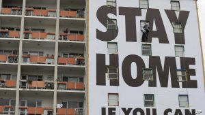 Stay Home Billboard
