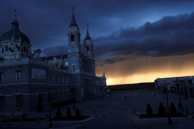 La Almudena Cathedral and the Royal Palace
