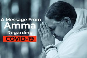 Amma's message on Coronavirus