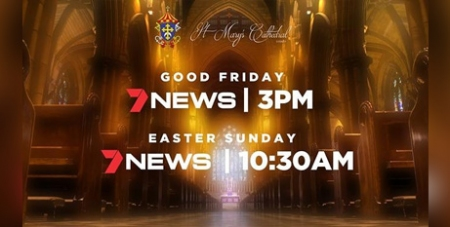 7 News broadcast of Easter Services