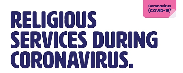 COVID-19 Religious services advice Easy English