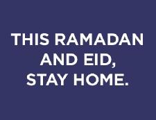 Message about Ramadan and Coronavirus