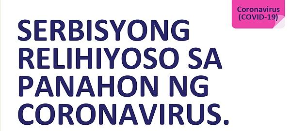 COVID-19 Religious services advice Filipino