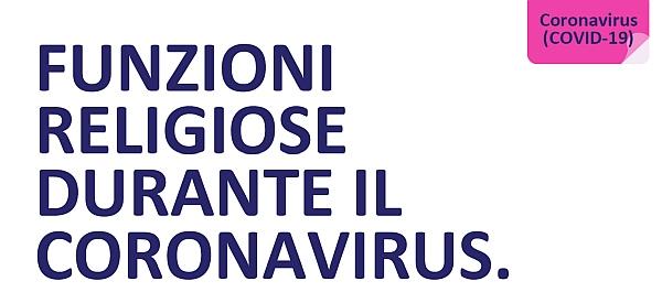 COVID-19 Religious services advice Italian