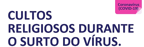 COVID-19 Religious services advice Portugese