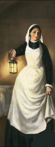 Florence Nightingale - the lady with the lamp
