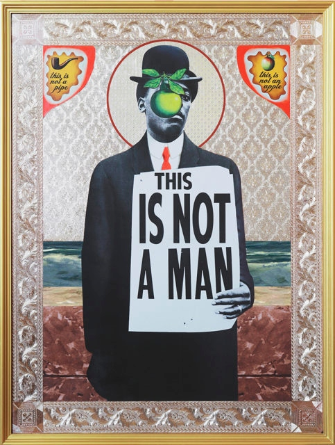 """""""Son Of Man (After Magritte)"""""""
