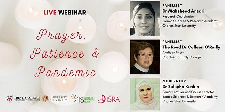 Webinar: Prayer, Patience and Pandemic