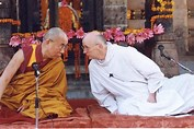 Dalai Lama and Lawrence Freeman