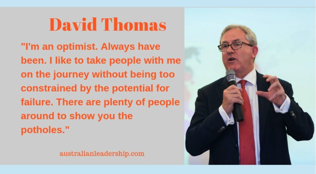 Optimism from David Thomas