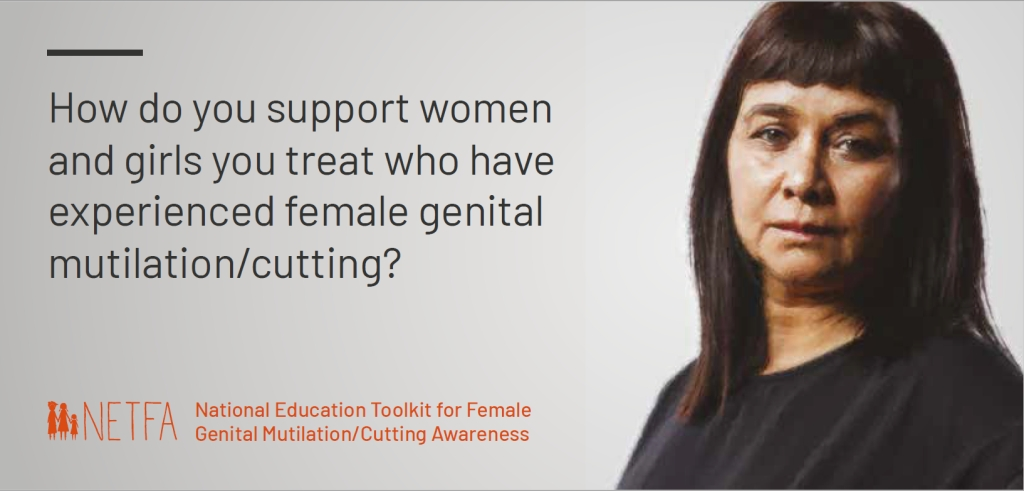 National Education Toolkit for Female Genital Mutilation/Cutting Awareness Postcards
