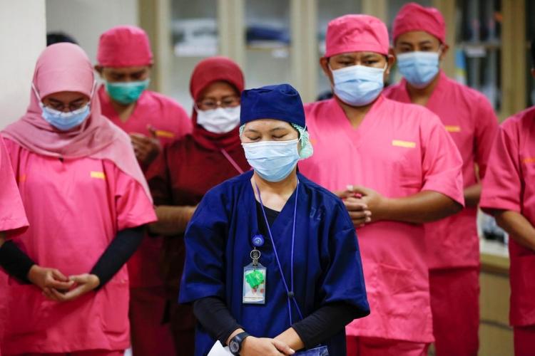Frontline health workers in Indonesia