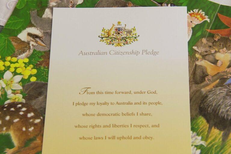 Australian Citizenship Pledge