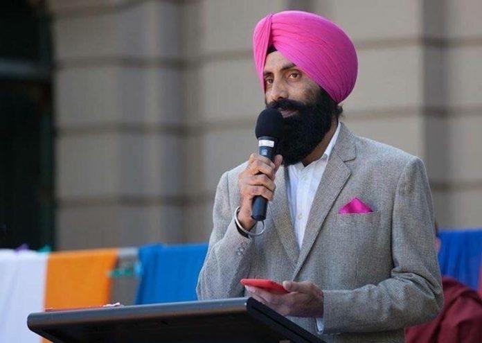 Sandeep Singh Sandhu in Bendigo