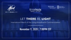 Kristallnacht - The Night of Broken Glass