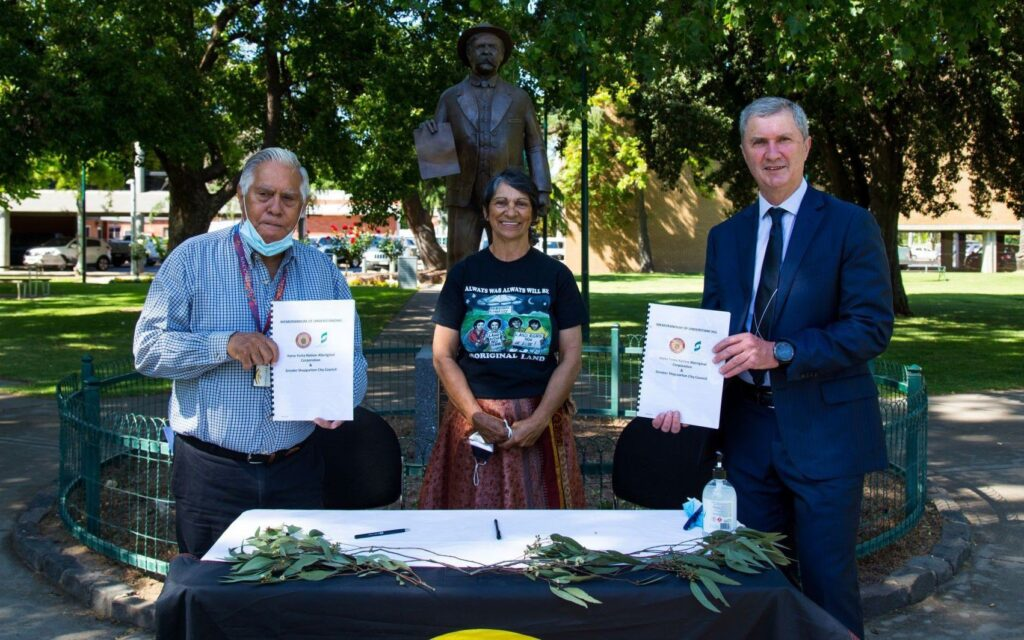 MoU Signing in Queens Gardens