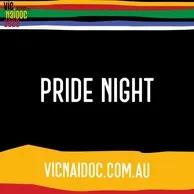 NAIDOC Pride Night