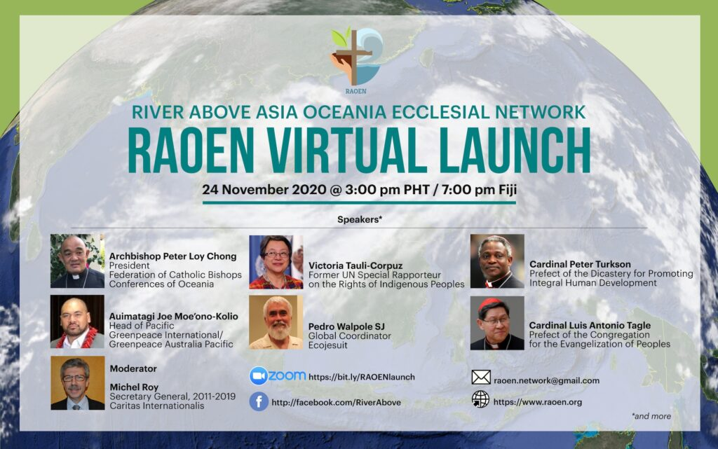 River Above Asia Oceania Ecclesial Network