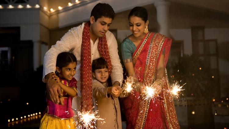 Diwali Family