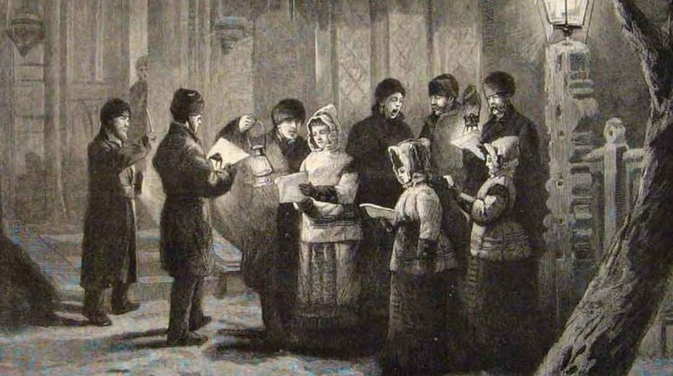 Carols were first sung in Europe thousands of years ago