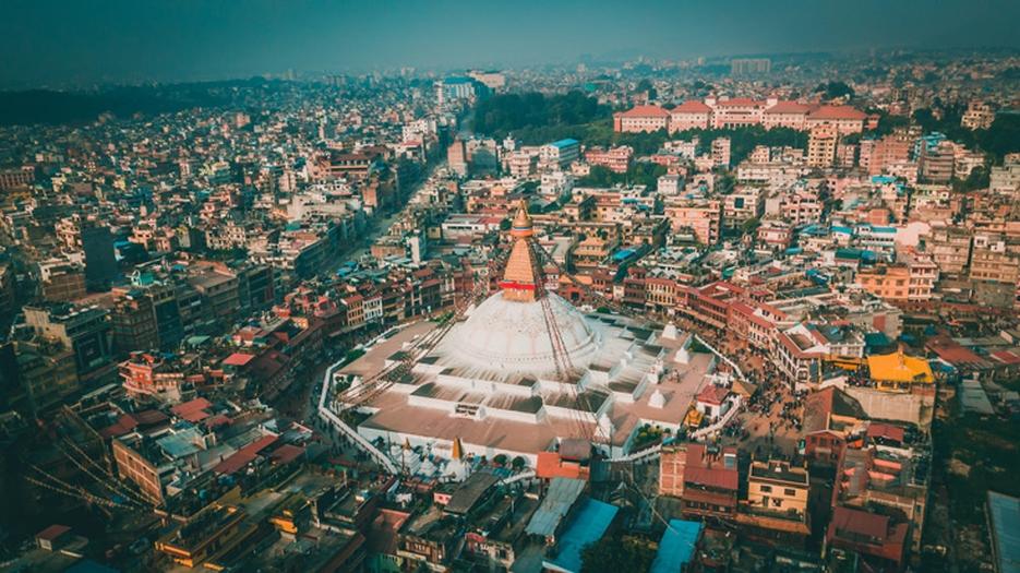 Boudh stupa in Kathmandu