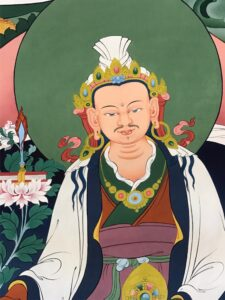 the thirty-eighth Tibetan king, Trisong Detsen