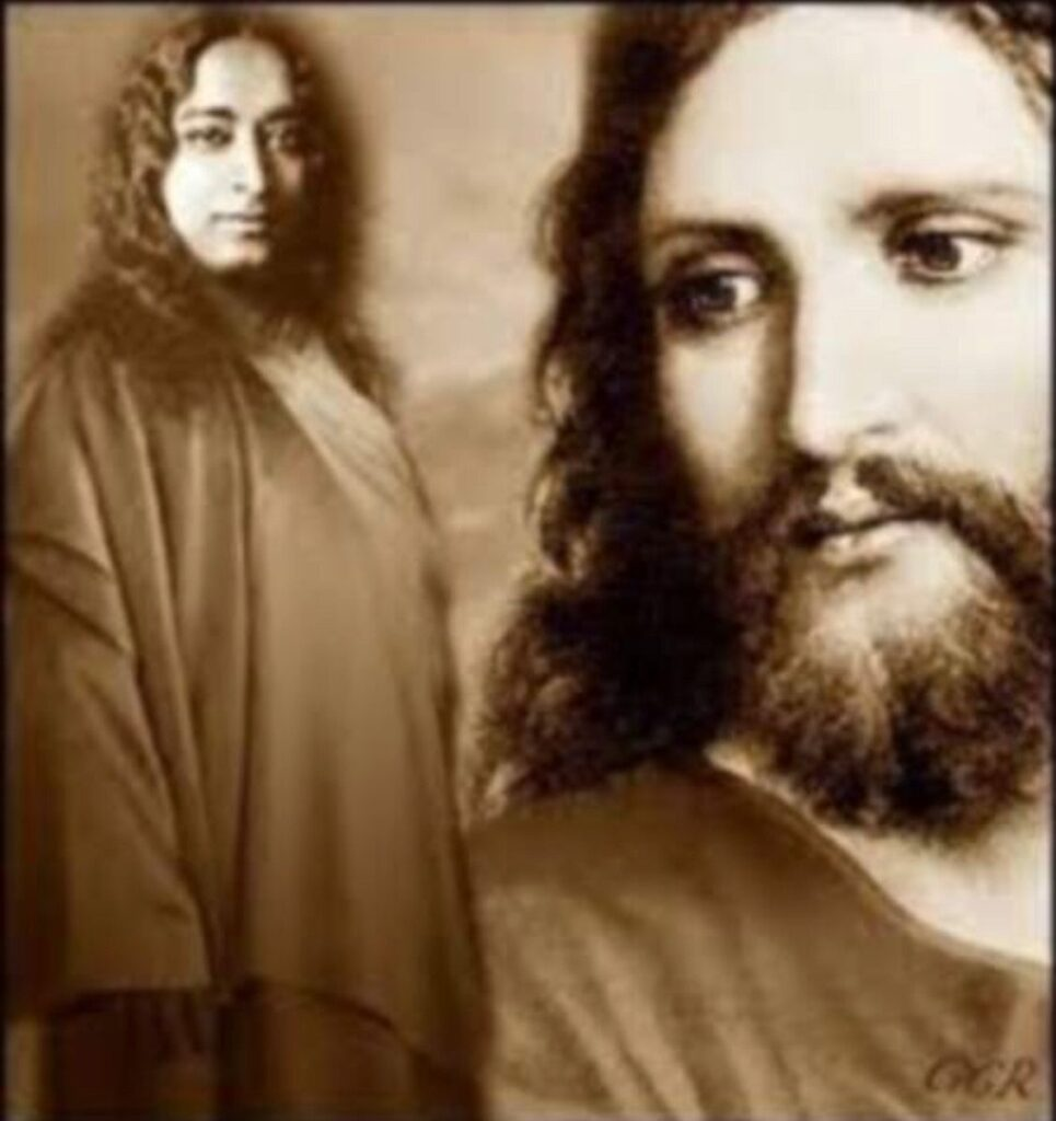 Paramahansa Yogananda and Jesus Christ