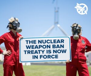 Nuclear ban now in force