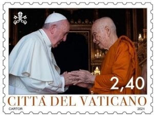 Vatican Issues Interfaith-Dialogue Stamps