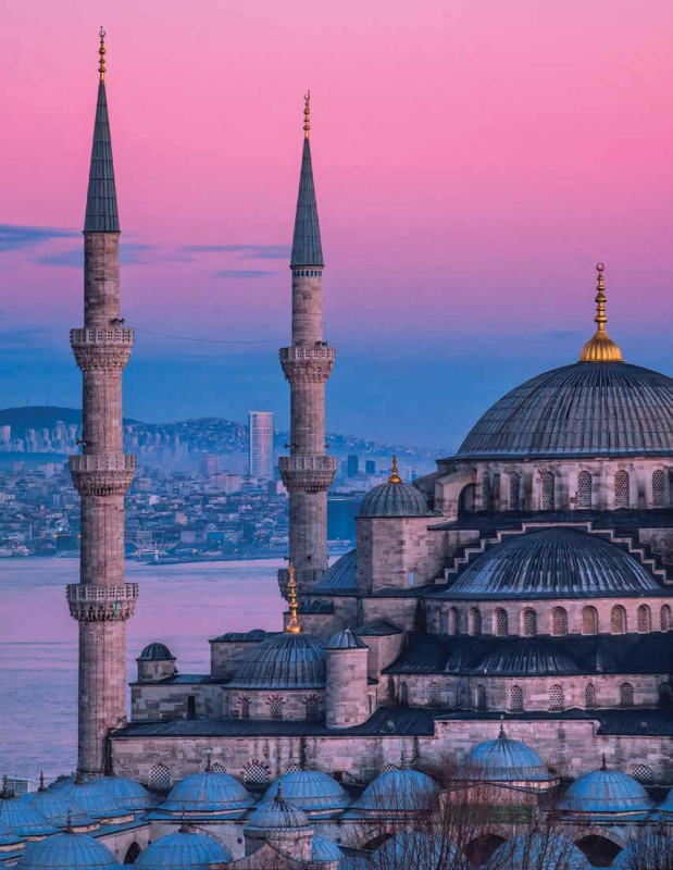 The Sultanahmet Mosque, Istanbul,