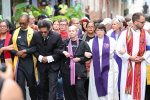 Clergy take stand against racism
