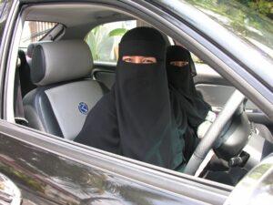 Women in purdah