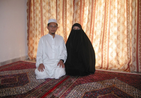 Tablighi Janmaat couple