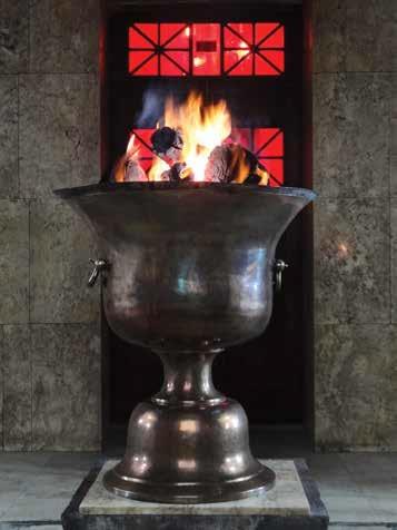 Zoroastrian Eternal Flame