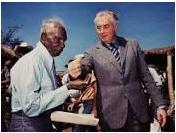 Gough Whitlam and Vincent Lingiari
