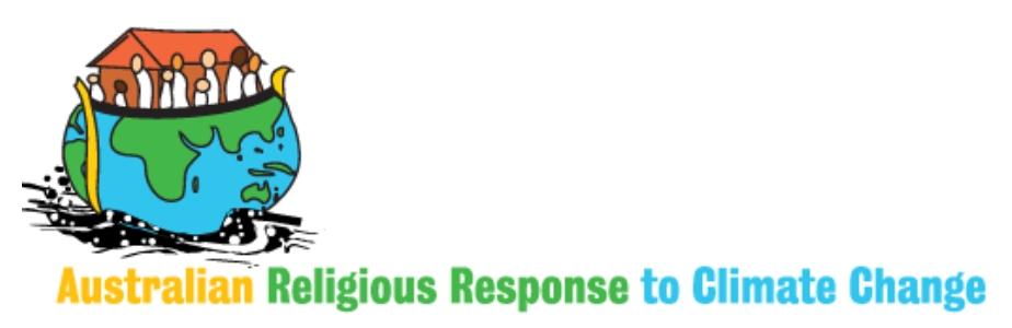 The Australian Religious Response to Climate Change